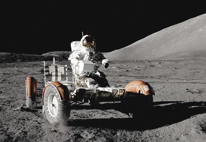 NASA Apollo 17 lunar roving vehicle.
