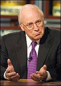Cheney dick juego disparar